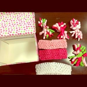 3C4G Girls Head Bands & Hair Clips in gift box